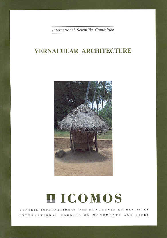 Isc vernacular architecture international council on for Architecture vernaculaire definition