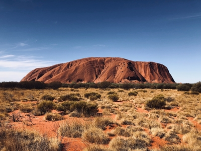 Uluru Photo by Antoine Fabre on Unsplash