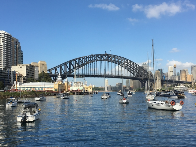 Sydney Harbour Richard Mackay