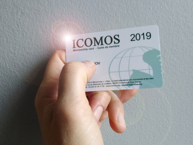 Open Sesame ICOMOS card