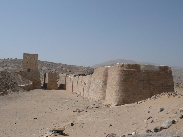 The Marib Dam in 2004, copyright: Pamela Jerome