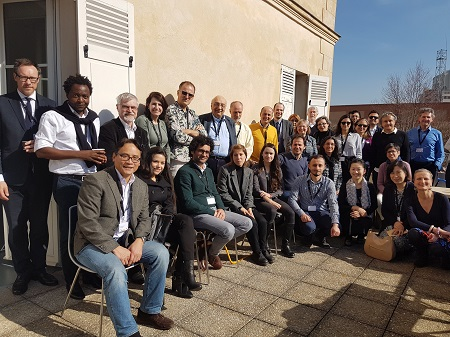 ICOMOS Reconstruction Workshop March 2017 Group Photo small