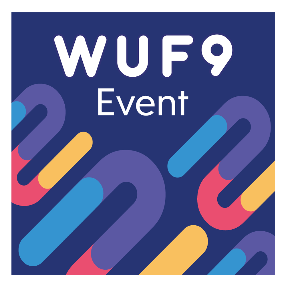 WUF9 Event Logo color