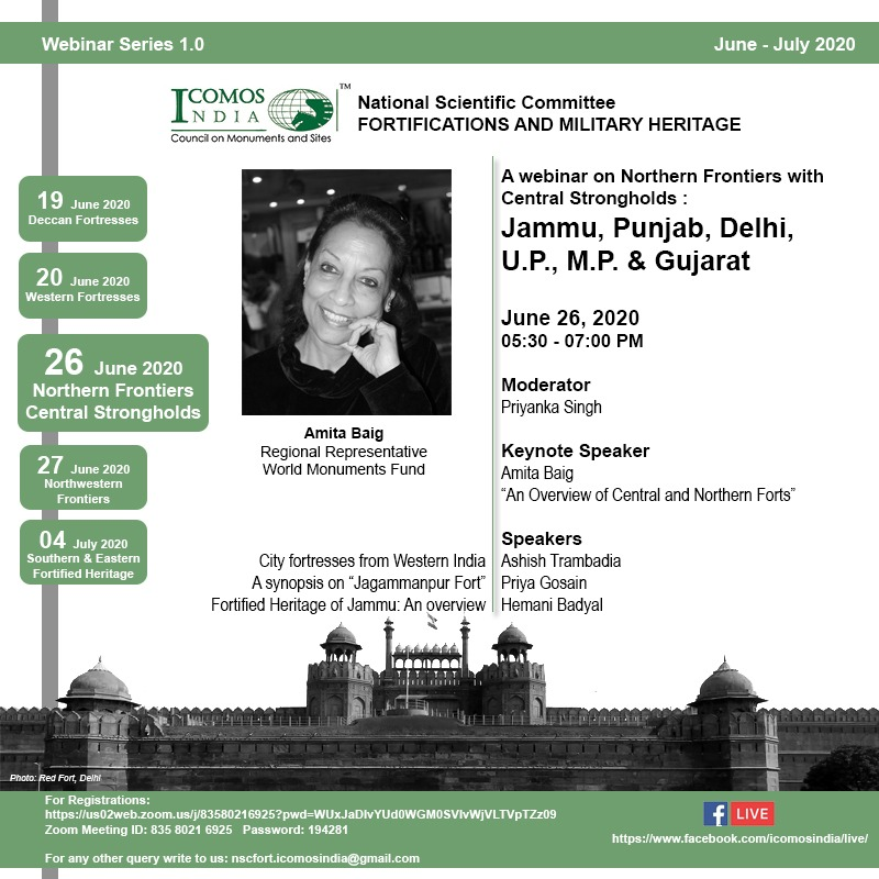 ICOMOS INdia NSC FOrt 26 June