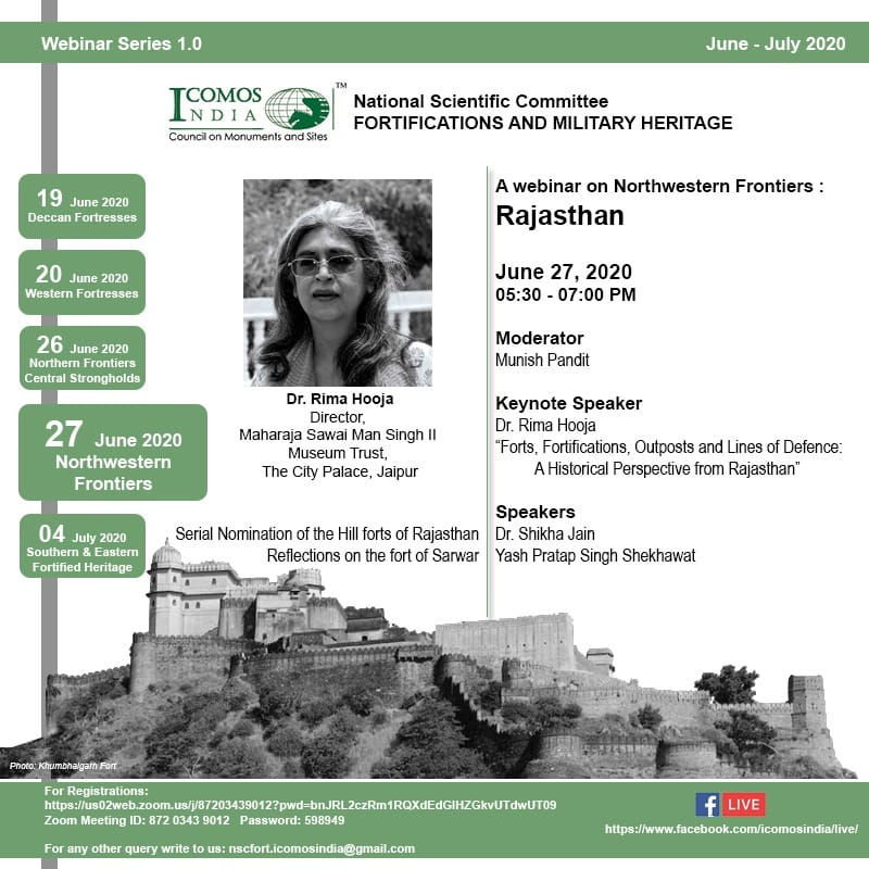 ICOMOS INdia NSC FOrt 27 June