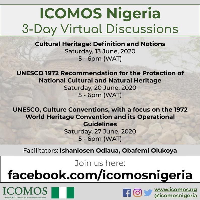 icomos nigeria virtual discussions