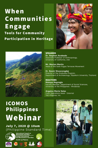 thumb ICOMOS Philippines webinar communities