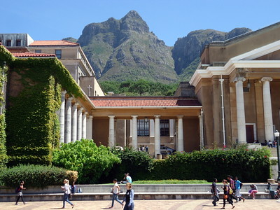Cape Town University Table Mountain