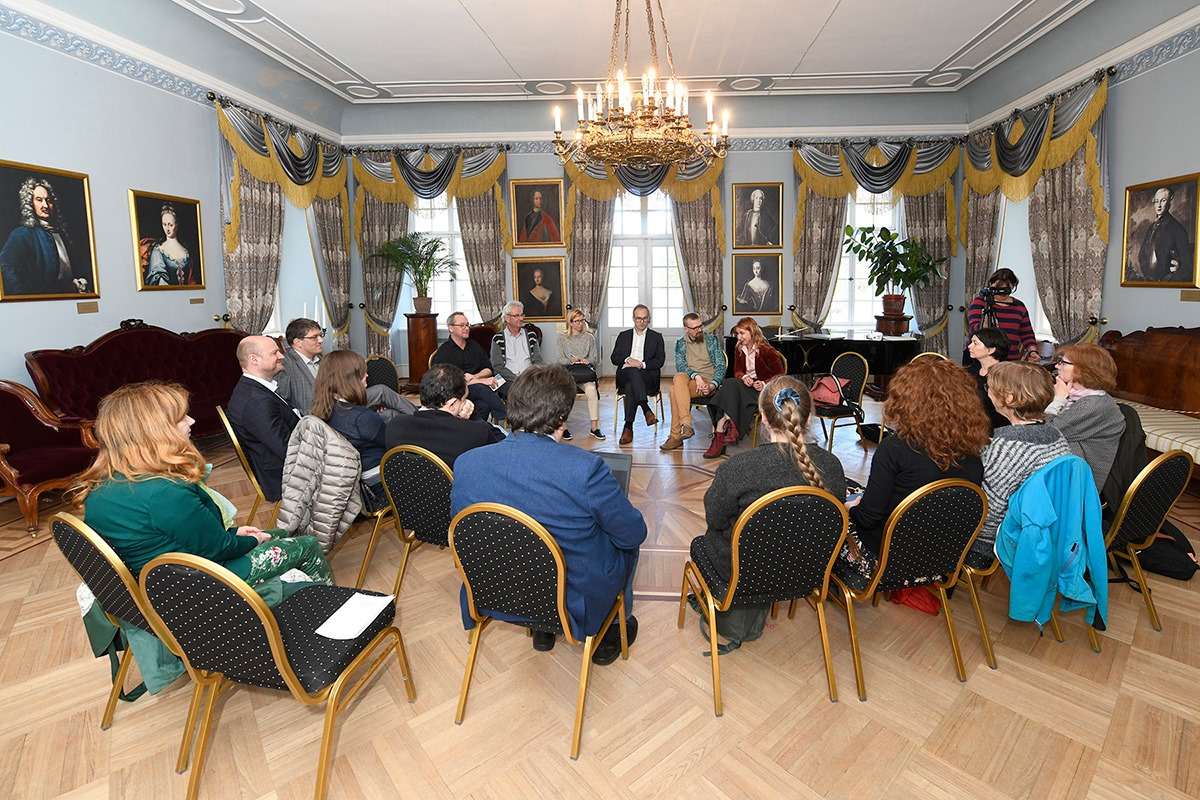 2019 training course heritage and rights Palmse Estonia - Photo: Tõnu Noorits