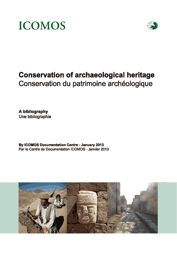 BIBLIOGRAPHIE ARCHAEOLOGICAL-HERITAGE_2013_couv_Page 001