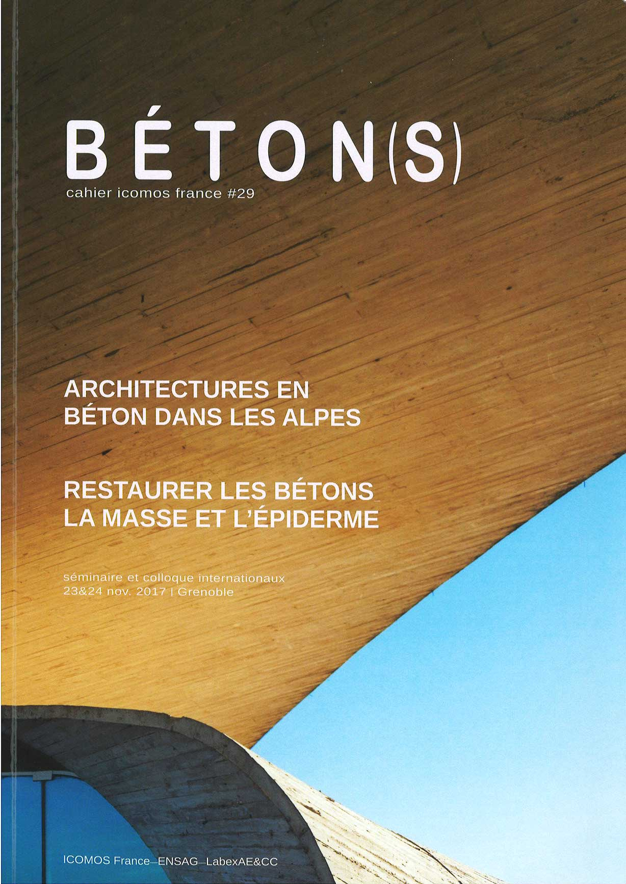 Betons Cahier ICOMOS France No29