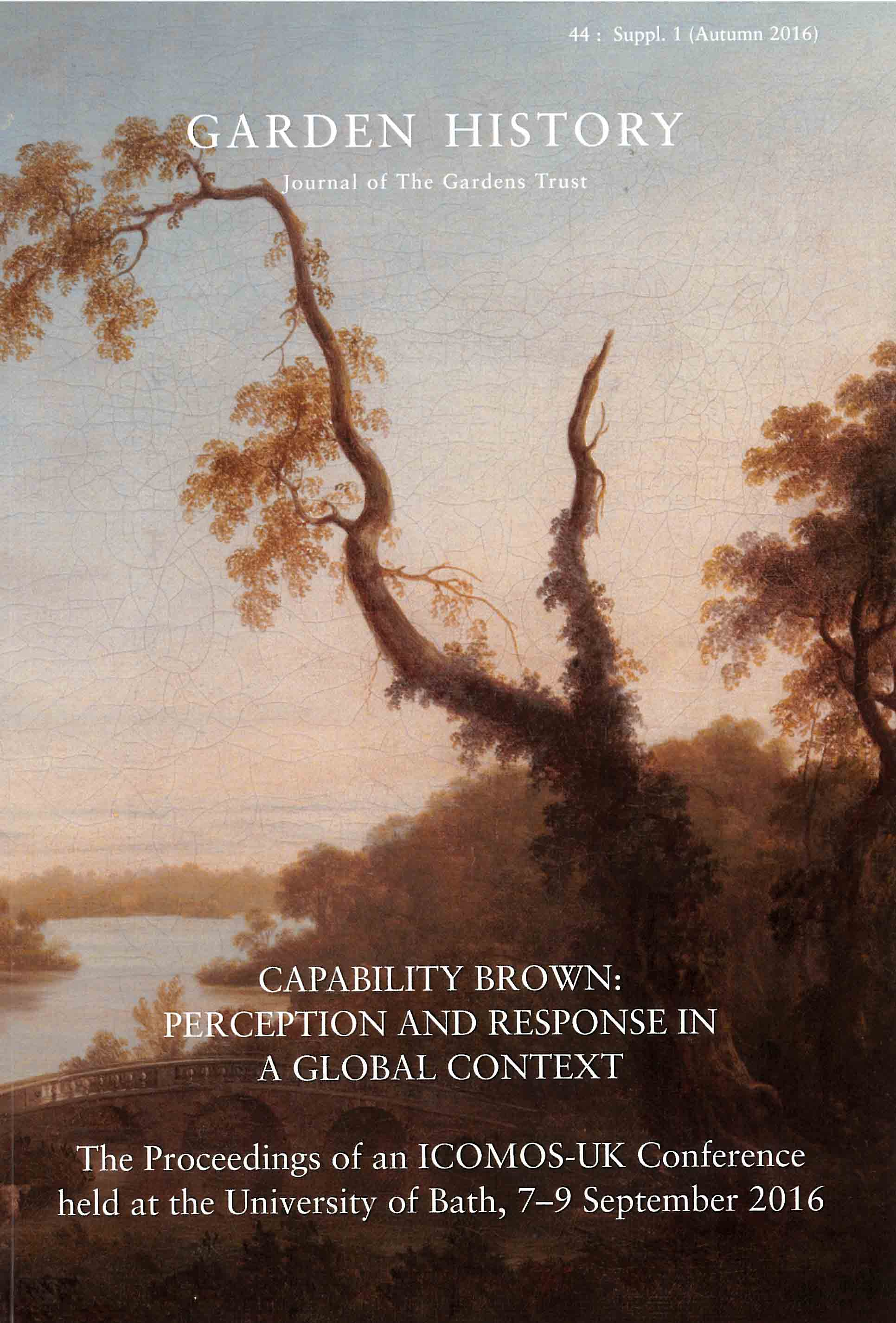 Capability Brown Garden history44