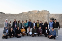 Workshop participants during the visit to World Heritage Site of Qal'at al-Bahrain  ©ARC-WH