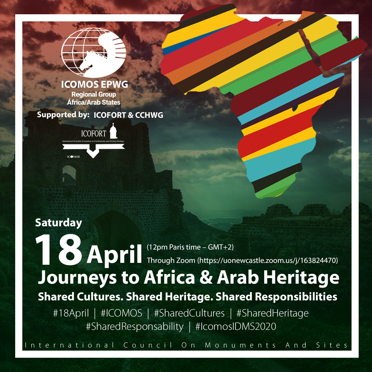 ICOMOS EPWG Africa and Arab State Regions Event 18 April 2020