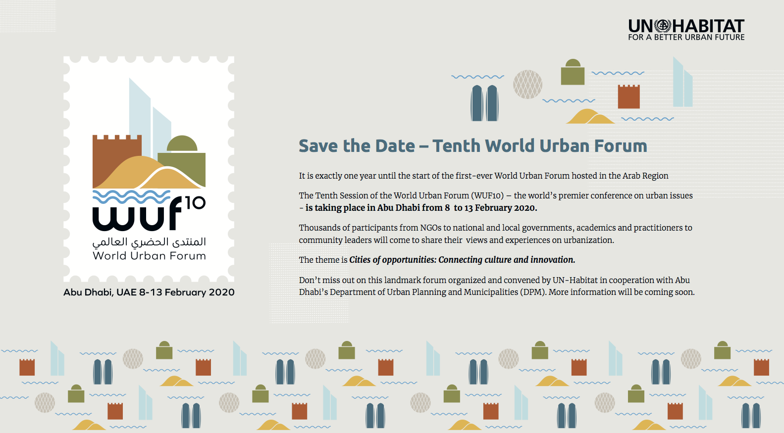 WUF10 Save the Date Postcard English