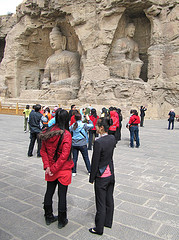 World Heritage Site of Yungang caves, China. © John Roberts