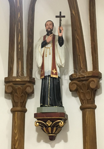 egami-church-statue-above-altar-possibly-st-francis-xavier