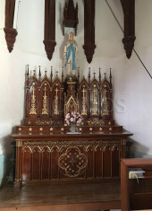 kuroshima-church-chapel-with-statue-of-the-virgin