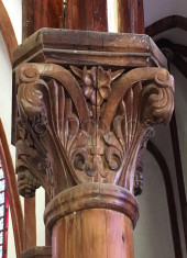 nozaki-church-carved-timber-column-detail