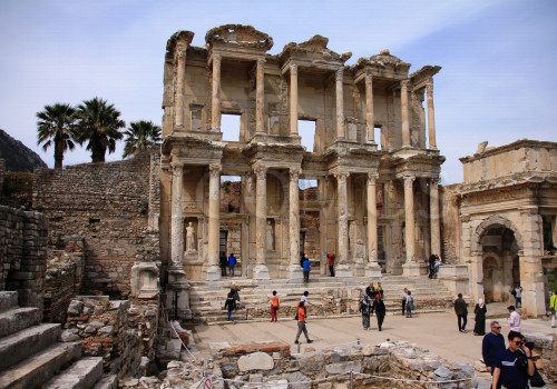 The Library Of Celcus In Te Ancient City Of Ephesus Turkey 2019 International Council On Monuments And Sites
